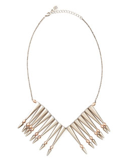 House of Harlow Nomadic Warrior Arrow-Fringe Necklace