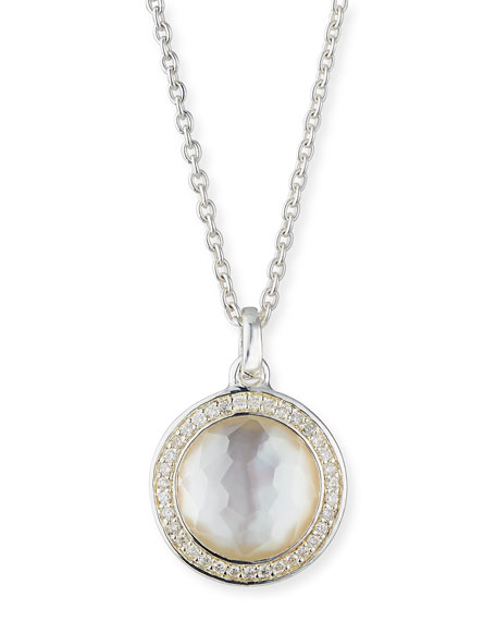 Ippolita Stella Lollipop Pendant Necklace in Mother-of-Pearl