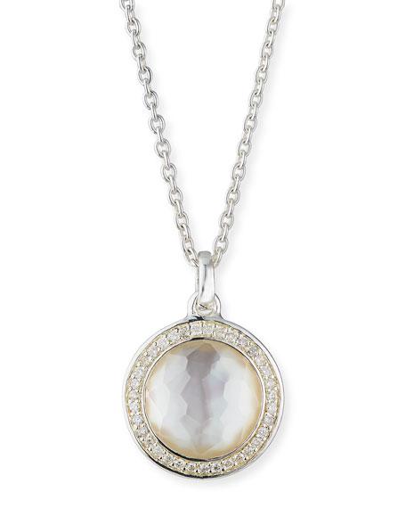 Ippolita Stella Lollipop Pendant Necklace in Mother-of-Pearl