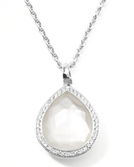 Ippolita Stella Teardrop Pendant Necklace in Mother-of-Pearl with