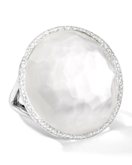 Ippolita Stella Large Lollipop Ring in Mother-of-Pearl Doublet