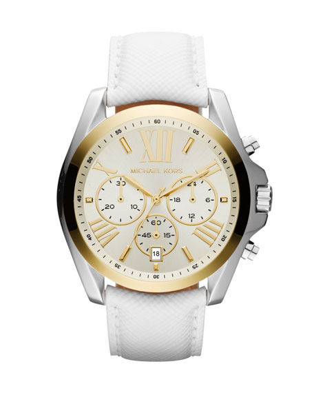 Mid-Size Two-Tone Stainless Steel Bradshaw Chronograph Watch
