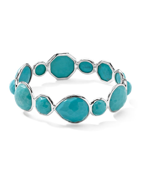 Wonderland Large Hero Turquoise Bangle