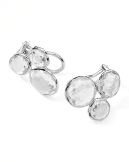 Ippolita Rock Candy Clear Quartz Cluster Earrings