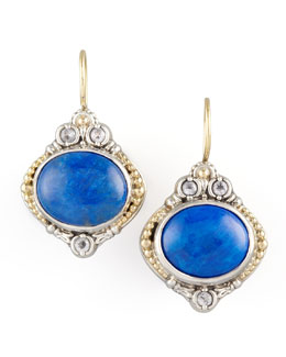 Konstantino Lapis Drop Earrings