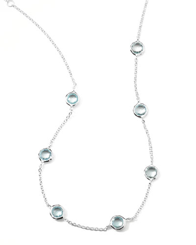 Ippolita Seven-Station Lollipop Topaz Necklace