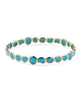 Ippolita Gold Rock Candy Bangle, Turquoise