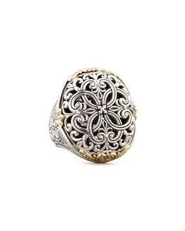 KONSTANTINO Oval Filigree Ring
