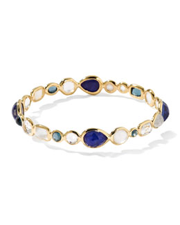 Ippolita 18k Gold Rock Candy Gelato Bangle, Corsica