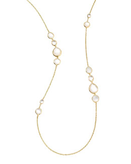 Ippolita 18k Gold Rock Candy Long Gelato Station Necklace, Flirt