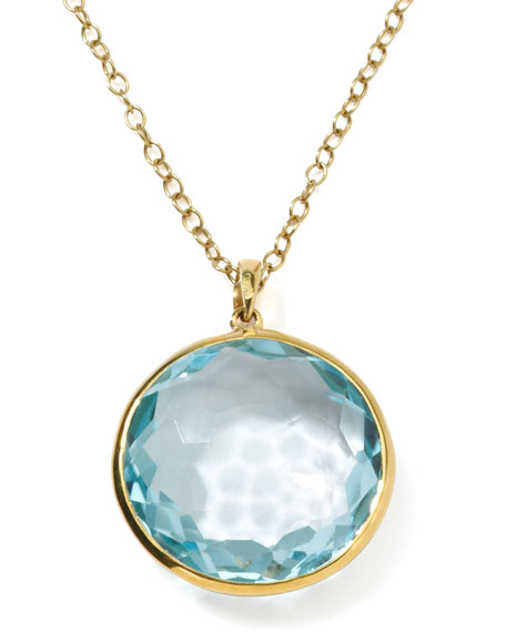 Ippolita 18k Gold Rock Candy Lollipop Pendant Necklace,