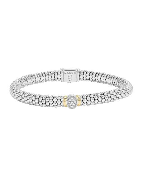 LAGOS Pave-Diamond Bracelet