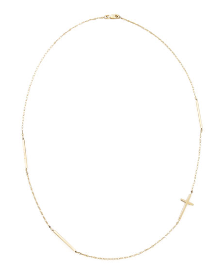CROSS BAR NECKLACE BLAKE