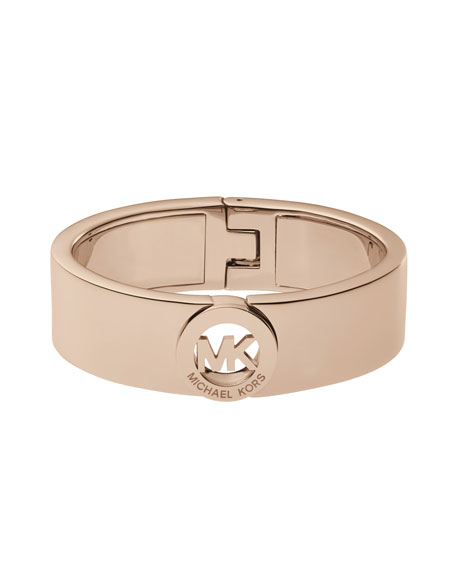 Fulton Bangle, Rose Golden