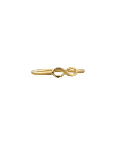 Golden Infinity Ring