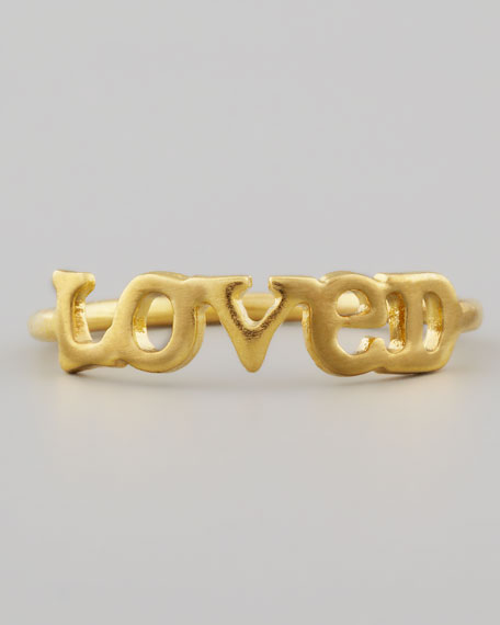 Golden Loved Ring