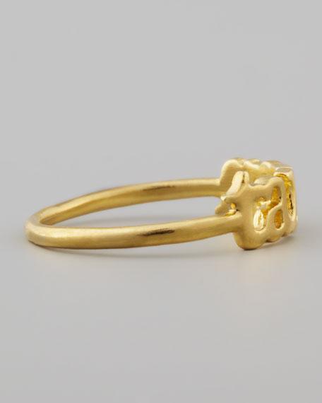 Small Golden Taken Ring