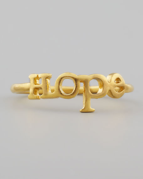 Golden Hope Ring