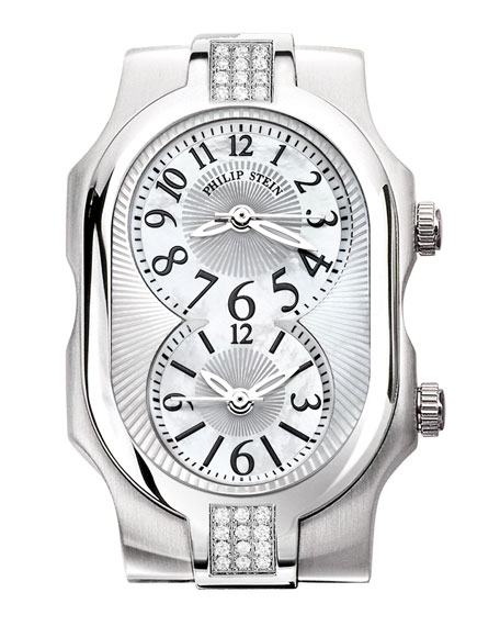 Small Signature Sport Double 24-Diamond Watch Head
