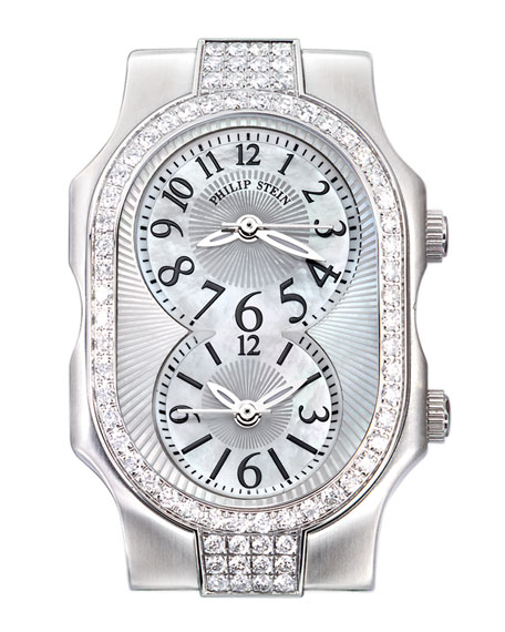 Small Signature Sport Double 72-Diamond Watch Head