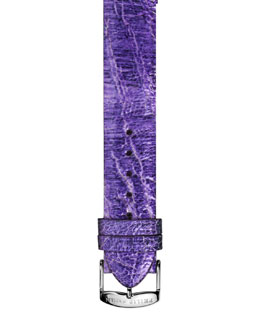 Philip Stein 20mm Large Ostrich Strap, Light Purple