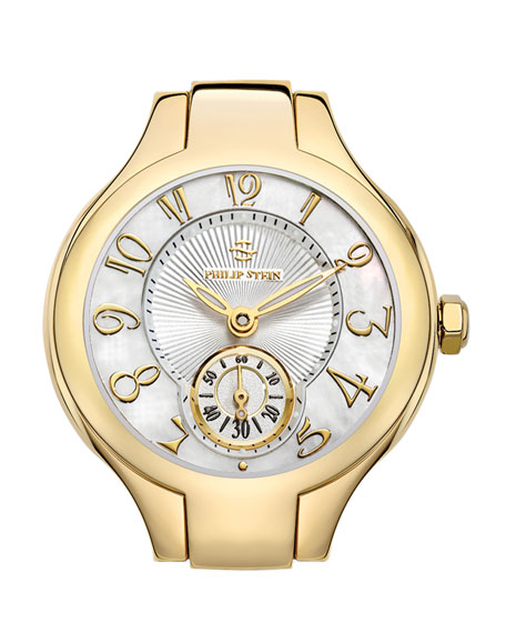 Mini Gold Watch Head