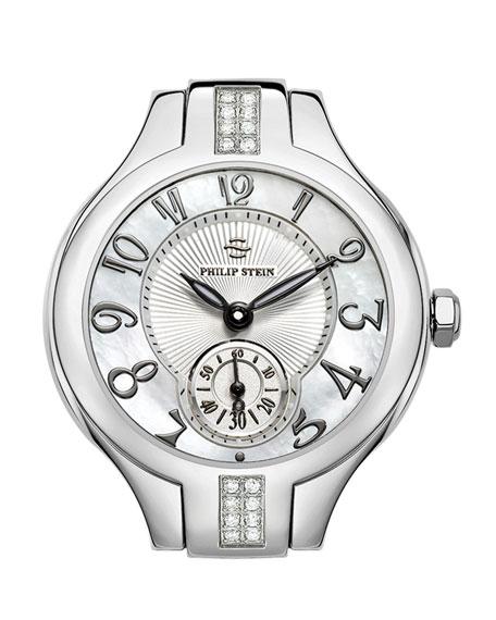 Mini Stainless Steel Sport Diamond Watch Head