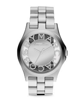 MARC by Marc Jacobs Stainless Steel Mirror Watch
