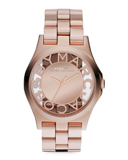 MARC by Marc Jacobs Rose Golden Mirror Watch