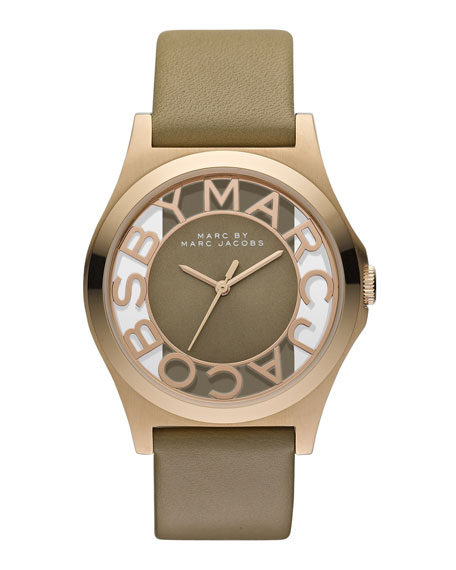 Sunray Dial Watch, Gingersnap
