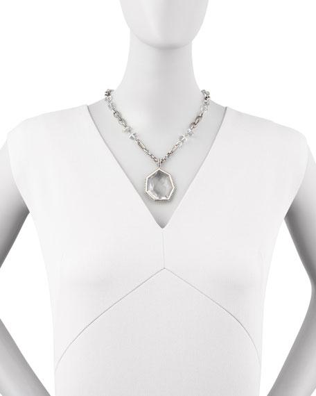 Galactic Rock Crystal Necklace