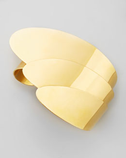 Robert Lee Morris Gold-Plate Layered Cuff Bracelet
