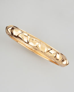 Sequin Golden Pyramid Bangle