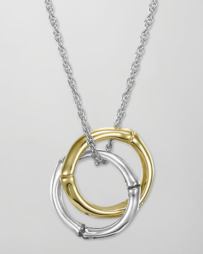 John Hardy Bamboo Interlinking Pendant Necklace