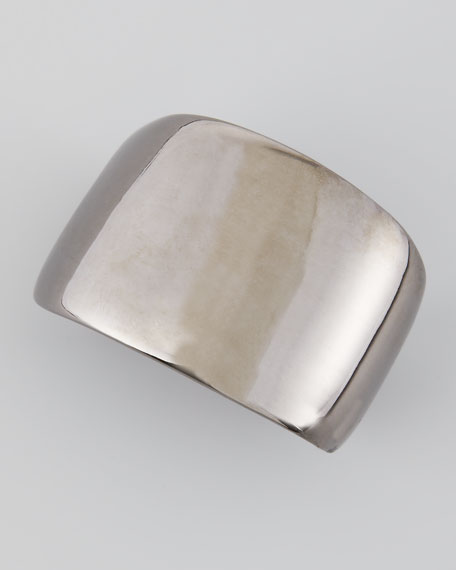 Kenneth Jay Lane Polished Gunmetal Cuff lFC5wlC
