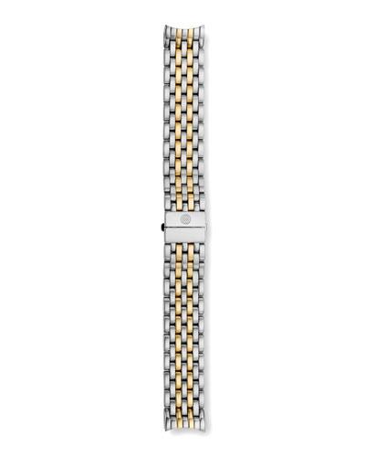 18mm Two-Tone CSX Bracelet Strap