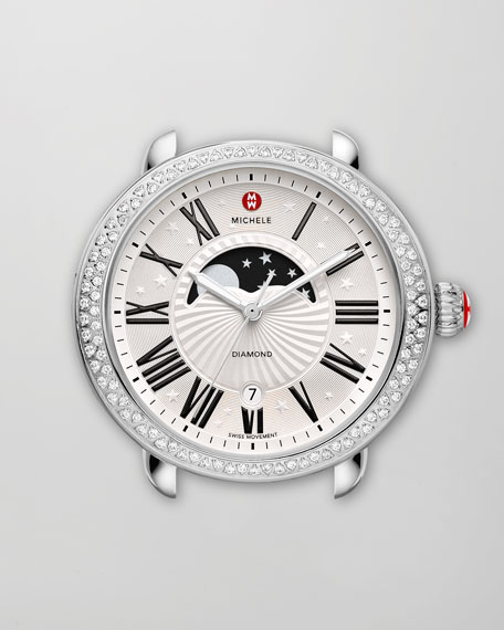 Serein Moon Phase Diamond Watch Head