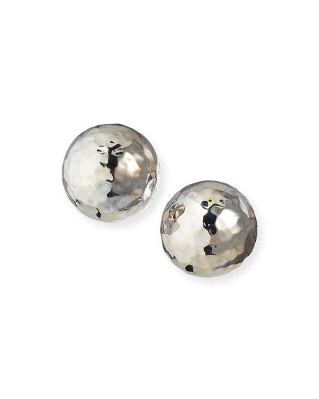 Ippolita Sterling Silver Glamazon Pinball Clip-On Earrings
