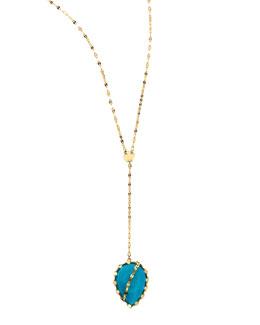 Lana Turquoise Lariat Necklace