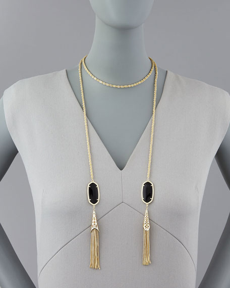 Megan Lariat Necklace