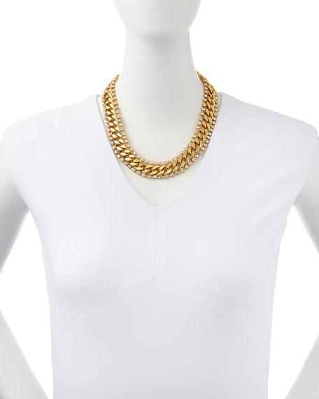 midnight rendezvous necklace, golden