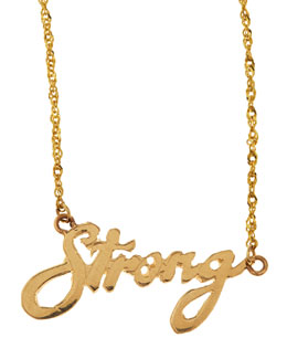 Lana Mini Strong 14k Gold Necklace