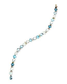 Alexis Bittar Fine Midnight Marquise Tennis Bracelet