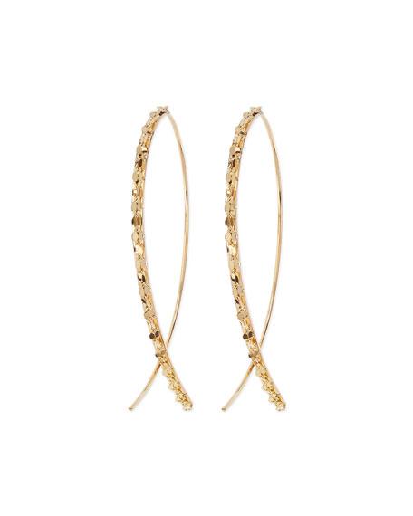 Lana 14k Glam Small Hook-On Hoop Earrings