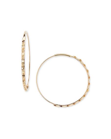 Lana 14k Small Glam Magic Hoop Earrings