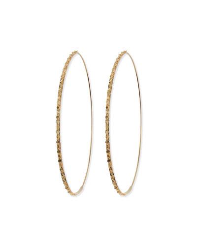 Lana 14k Large Glam Magic Hoop Earrings