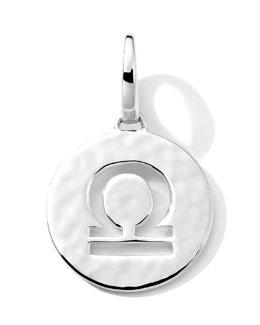 Ippolita Silver Sterling Silver Zodiac Charm, Libra