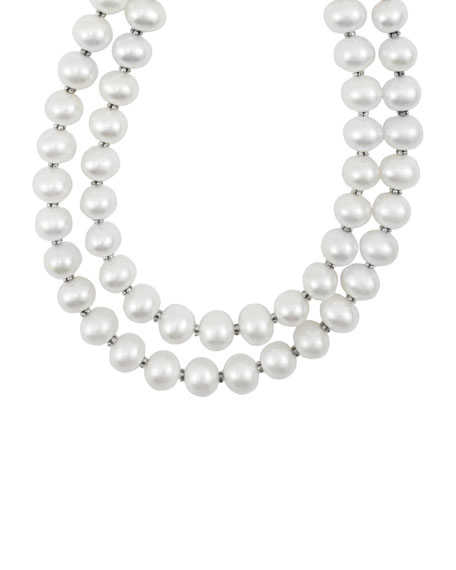 Lagos Luna Pearl Double-Strand Necklace