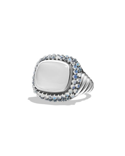 Waverly Reverse Set Ring with Moonstone
