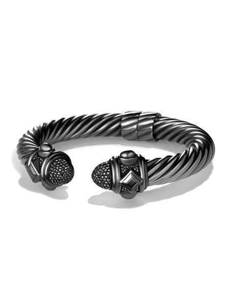 David Yurman Rhodium-Plated Sterling Silver Renaissance Bracelet